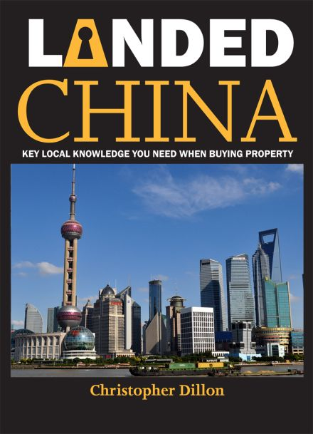 Landed China cover